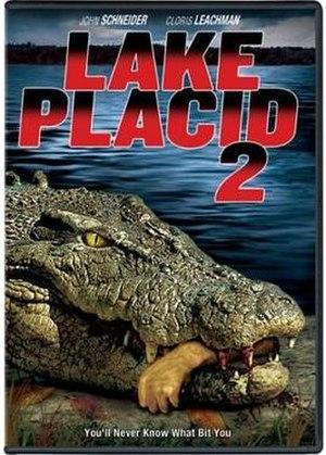 Lake Placid 2 - DVD cover