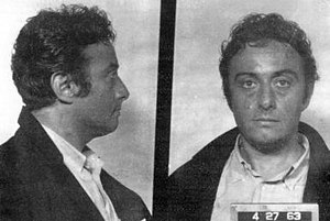 Lenny Bruce - Lenny Bruce in 1963, after being arrested in San Francisco
