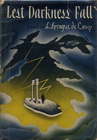 Lest Darkness Fall - Dust cover of first edition