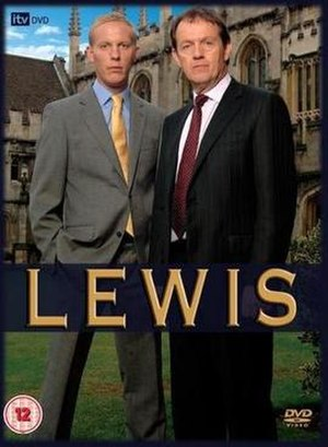 Lewis (TV series) - Cover of the DVD of the first series