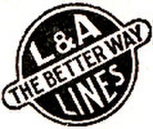 Louisiana and Arkansas Railway - Image: Louisiana and Arkansas Railway (1938 logo)