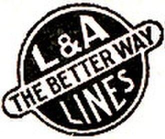 Louisiana and Arkansas Railway - Image: Louisiana and Arkansas Railway (1938 logo)