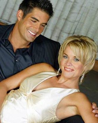 Luis Lopez-Fitzgerald - Luis (Galen Gering) and Sheridan (McKenzie Westmore) in 2004.