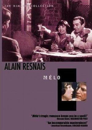 Mélo - Image: Mélo dvd cover