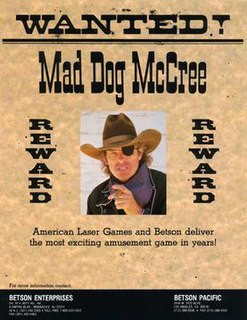 <i>Mad Dog McCree</i> 1990 computer and video game