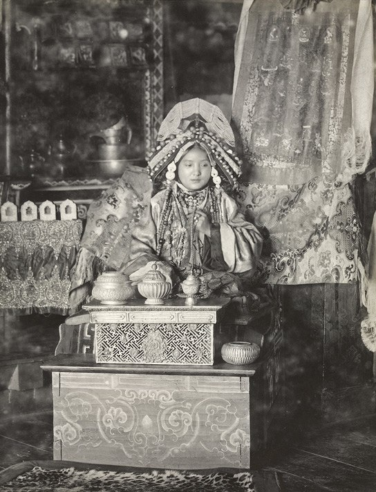 Maharani sikkim1900