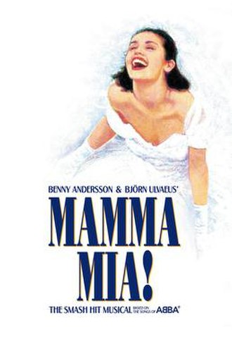 Mamma Mia! - West End promotional poster