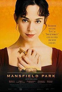 <i>Mansfield Park</i> (1999 film) 1999 film directed by Patricia Rozema