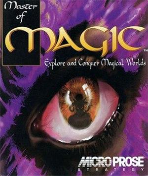Master of Magic - Box cover art for Master of Magic