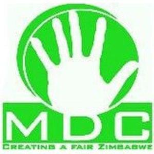 Movement for Democratic Change – Ncube - Image: Mdc mutambara logo