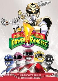 List of Mighty Morphin Power Rangers home video releases