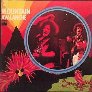 Avalanche (Mountain album) - Image: Mountain Avalanche