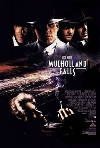 Mulholland Falls - Theatrical release poster