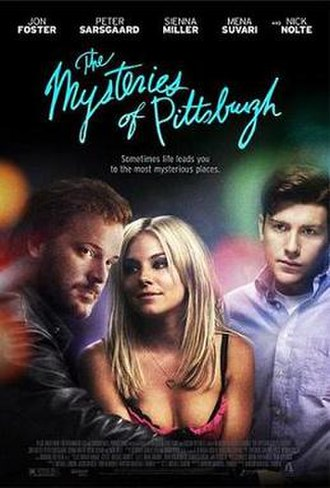 The Mysteries of Pittsburgh (film) - Promotional film poster