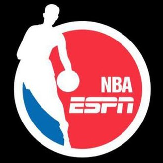 NBA on ESPN - Current logo, used since the 2016–17 NBA season.