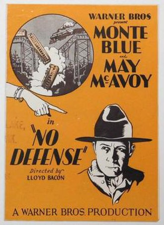 No Defense - Theatrical poster