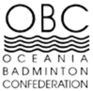 Badminton Oceania - Former logo under the ex-organisation name