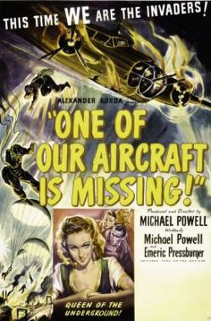 One of Our Aircraft Is Missing - theatrical poster