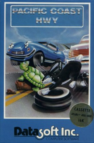 Pacific Coast Highway (video game) - Image: Pacific Coast Hwy cover