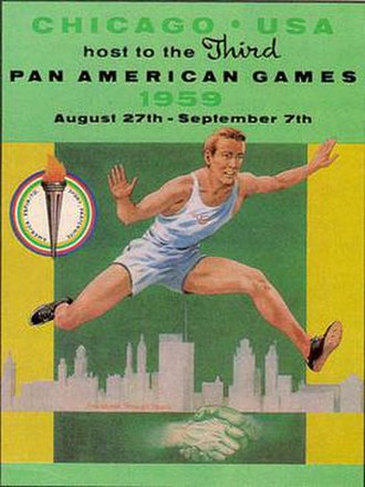 1959 Pan American Games - Image: Pan am 1959