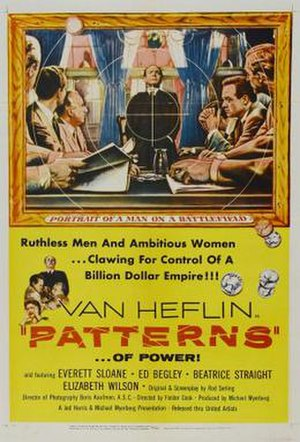 Patterns (film) - Theatrical release poster