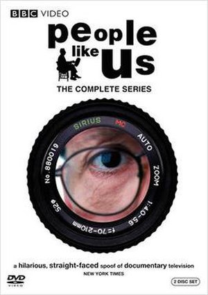 People Like Us (mockumentary) - DVD cover