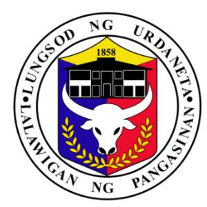Urdaneta, Pangasinan - Image: Ph seal Urdaneta, Pangasinan