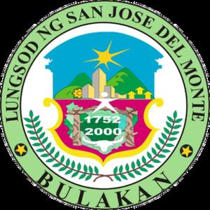 Mayor of San Jose del Monte - Image: Ph seal bulacan sanjose