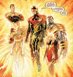 Avengers vs. X-Men - Image: Phoenix Five (comics)