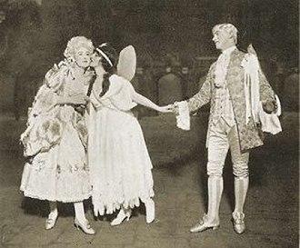 Nellie Briercliffe - Helen Gilliland (Phyllis), Briercliffe (Iolanthe) and Sydney Granville (Strephon), 1919