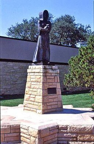 Pioneer Woman - Wheeler Williams model, enlarged and cast in Liberty, Kansas