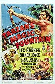 Afiŝo - Magic Fountain de Tarzan 01.jpg