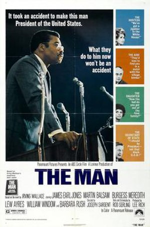 The Man (1972 film) - Image: Poster of The Man (1972 film))