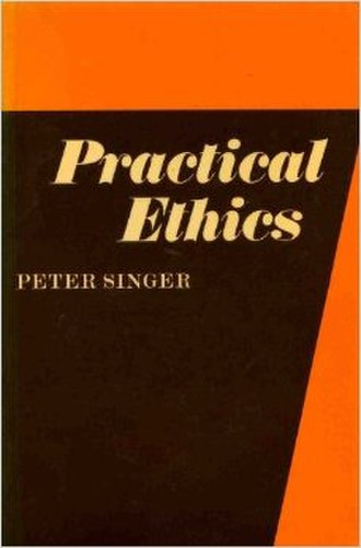Practical Ethics - Cover of the 1980 edition