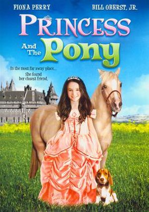 Princess and the Pony - DVD cover