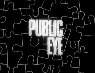 Public Eye (TV series) - Opening title card