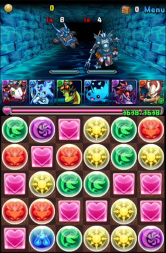 Puzzle & Dragons - Image: Puzzle and dragons screenshot