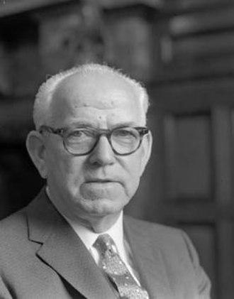 Bob Heffron - Heffron as Premier in 1960