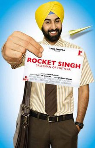 Rocket Singh: Salesman of the Year - Theatrical release poster