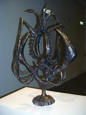 Theodore Roszak (artist) - Invocation I, steel of 1947, at the Hirshhorn Museum and Sculpture Garden