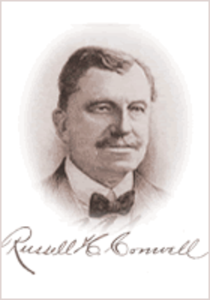 Russell Conwell - Image: Russell H Conwell