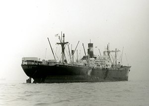 Seagoing cowboys - The livestock ship SS Cedar Rapids Victory