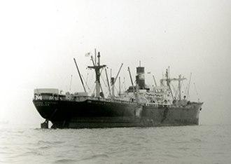 SS Cedar Rapids Victory - Image: Seagoing Cowboys Ship SS Cedar Rapids Victory