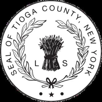 Tioga County, New York - Image: Seal of Tioga County, New York