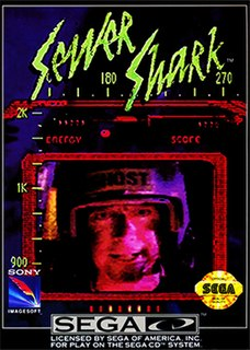 <i>Sewer Shark</i> 1992 video game
