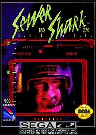 Sewer Shark - Image: Sewer Shark Coverart