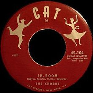 Sh-Boom - Image: Sh Boom The Chords