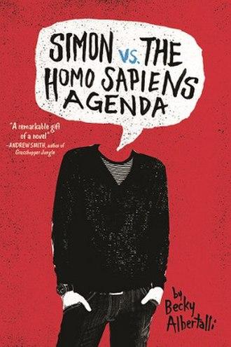 Simon vs. the Homo Sapiens Agenda - First edition cover