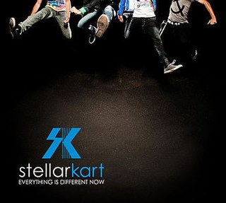 <i>Everything Is Different Now</i> album by Stellar Kart