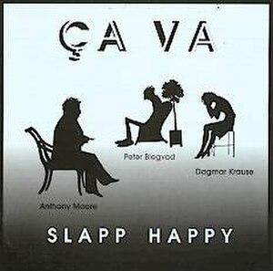 Ça Va - Image: Slapp Happy Album Cover Ca Va